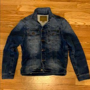 True religion cotton denim jacket